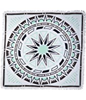 "Soleil French Terry ""Luna"" Printed Square Towel"