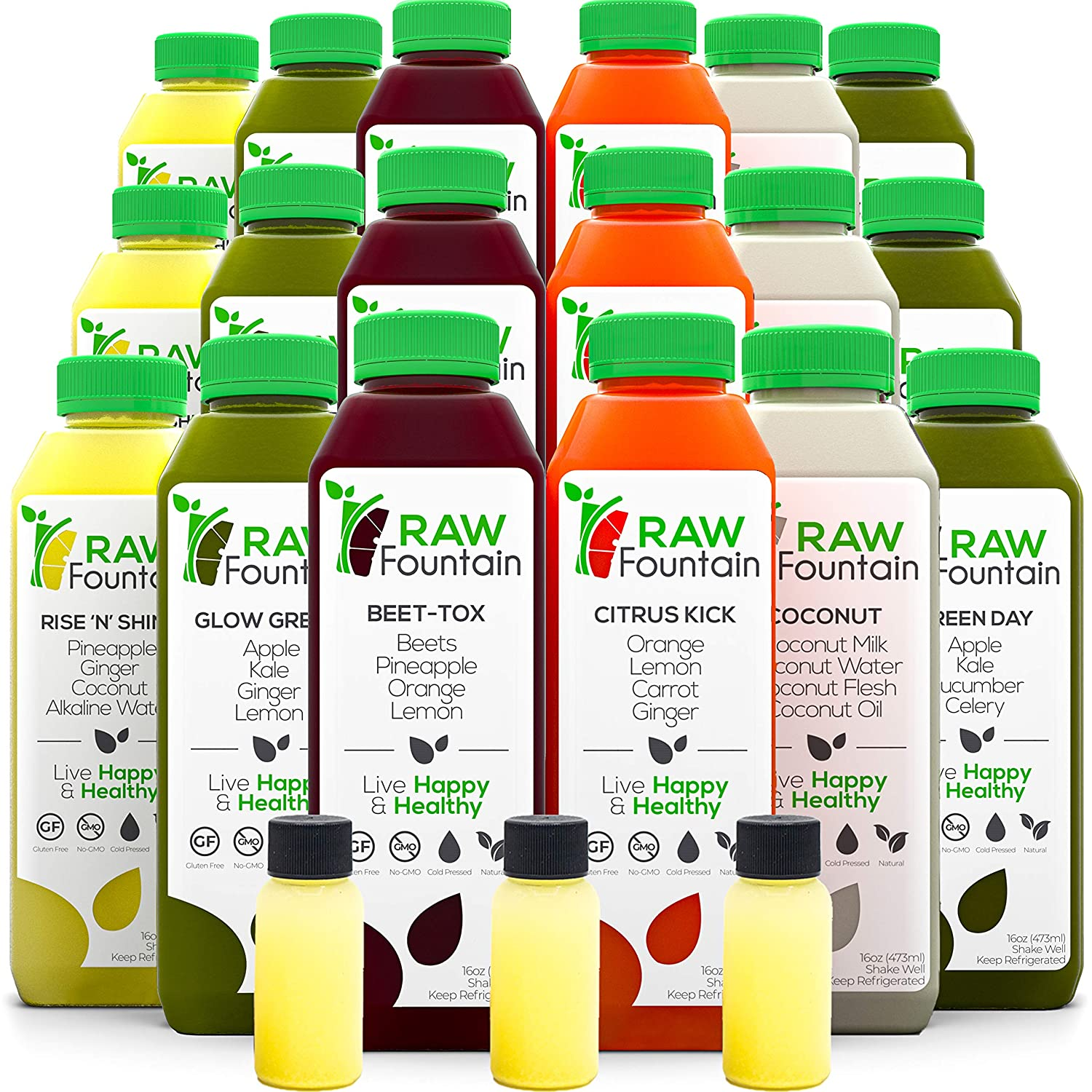 7 Day Juice Cleanse by Raw Dallas Mall Press All Fountain Cold Inventory cleanup selling sale Natural