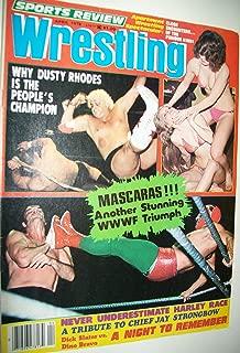 Sports Review Wrestling Magazine - April 1978 / Mil Mascaras, , Dusty Rhodes, Apartment Wrestling Spectacular, Women Bikini Wrestling, Harley Race, Chief Jay Strongbow, Dick Slater Vs. Dino Bravo