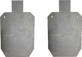 Pair of Titan AR500 Silhouette Style Steel Plate Shooting Targets 20