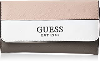 Guess Womens Wallet, Mauve Multi - VM767266