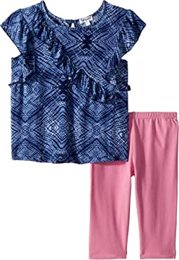 Ruffle Voile Top Set (Toddler)