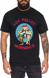 WALTER WHITE METH LABS MENS T SHIRT BREAKING HEISENBERG BAD LOS POLLOS S-5XL