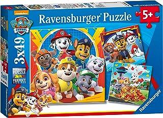 Ravensburger- Puzzles 3x49 pièces-Prêts à secourir/Pat'Patrouille La Pat' Patrouille Enfant, 4005556050482, 0