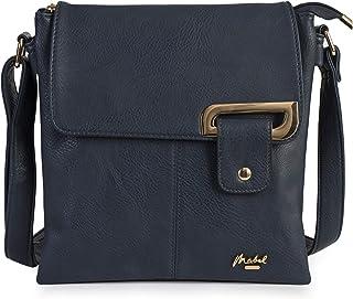 4144e12630 Pratique sac à bandoulière pour femme livré avec un petit sac de rangement  - FAITH