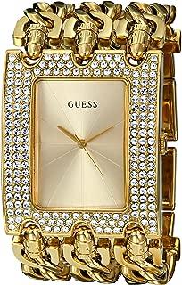 Gold-Tone Glitz Chain-Link Watch