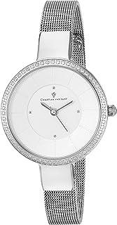 Christian Van Sant Women's Reign Quartz Watch with Stainless-Steel Strap, Silver, 10 (Model: CV0220)