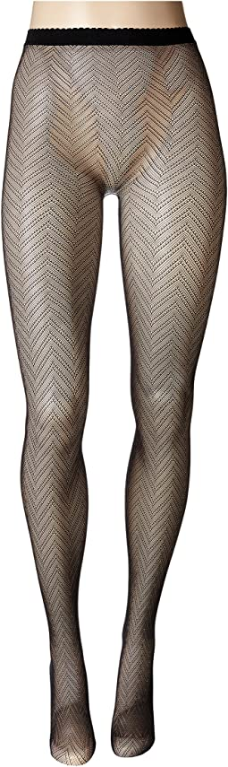 Natori - Herringbone Net Tights
