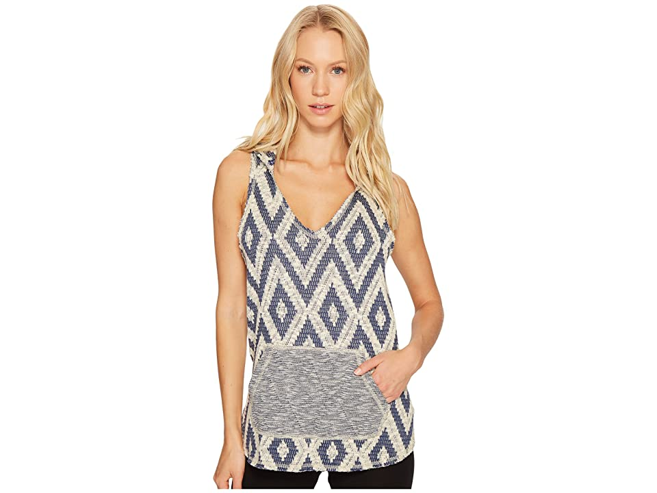Maaji Blue Reef Sleeveless Hoodie (Multicolor) Women