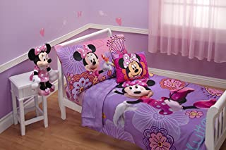 minnie mouse toddler comforter set