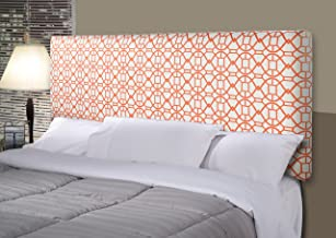 product image for MJL Furniture Designs Alice Padded Bedroom Headboard Contemporary Styled Bedroom Décor, Noah Series Headboard, Sunset Finish, California King Sized, USA Made