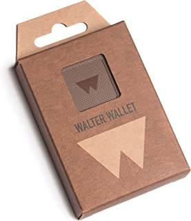 Walter Wallet Paper Brown