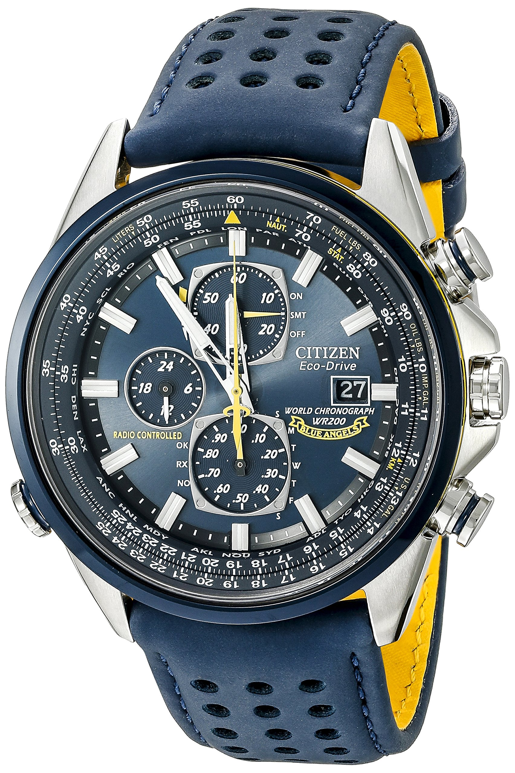 Citizen Eco Drive Chronograph Timekeeping AT8020 03L
