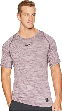 Pro Heathered Short Sleeve Training Top