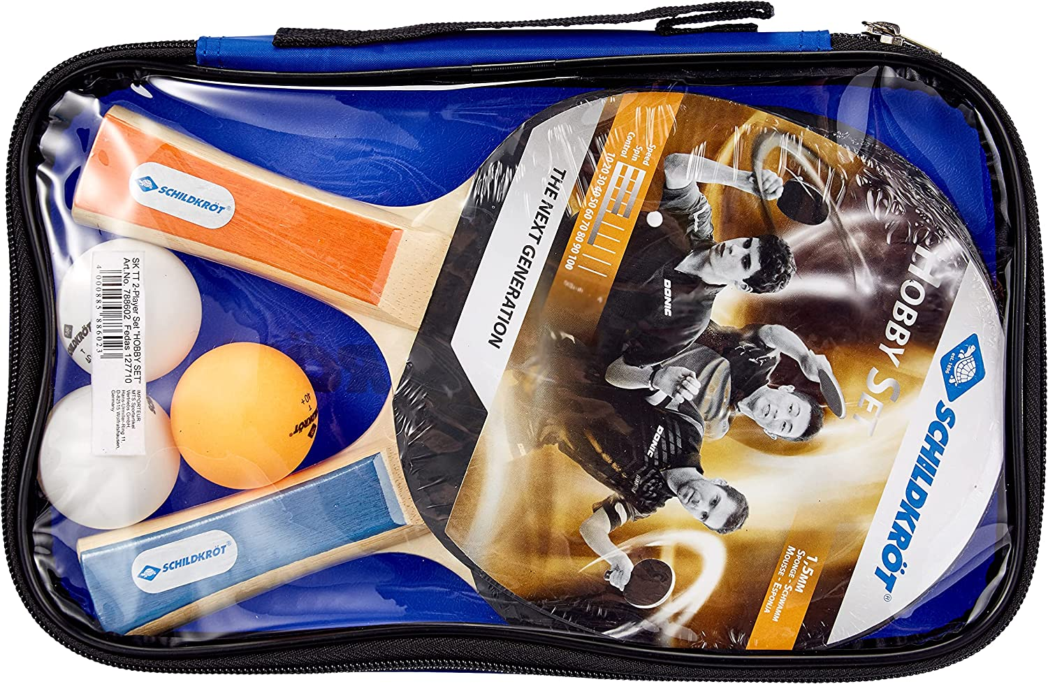 Donic Schildkrot Las Vegas Mall Table Tennis Set 2Player Gifts in Sopo Carry