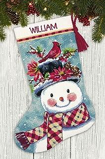 SIMPLICITY CREATIVE CORP 71-09159 Needlepoint KIT Snowman