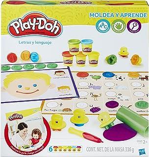 Play-Doh- Letras y Palabras, (Hasbro B3407105)