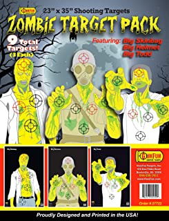 GunFun 23 x 35 Zombie Target Pack