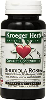 Kroeger Herb Rhodiola Rosea Vcaps, 90 Count