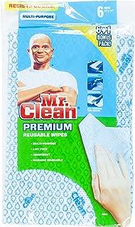 Mr. Clean Premium Reusable Wipes, Set of 7, 3-pack