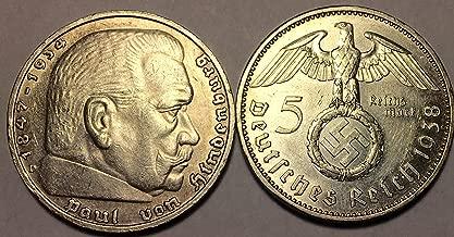 5 reichsmark 1936