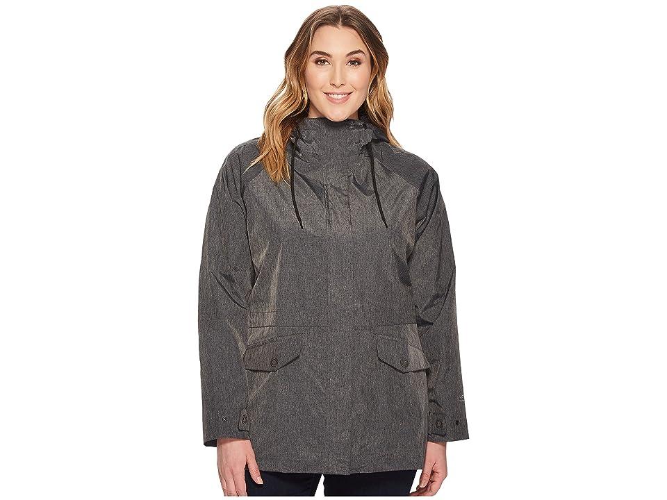 Columbia Plus Size Laurelhurst Park Jacket (Black) Women