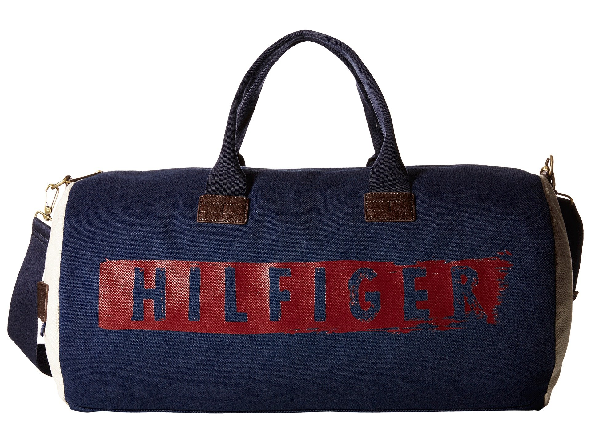 Bolso de Lona para Hombre Tommy Hilfiger Hilfiger Duffles-Weekender-Washed Canvas w/ PU Trim  + Tommy Hilfiger en VeoyCompro.net