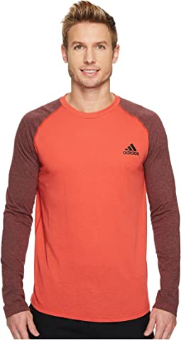 adidas - Ultimate Raglan Tricolor Long Sleeve Tee