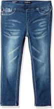 VIGOSS Girls' 5 Pocket Classic Pull on Skinny Jean