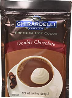 Ghirardelli Hot Cocoa Mix Double, 10.5 oz, Pack of 3