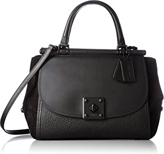 Women's Mixed Leather Drifter Carryall Mw/Black One Size