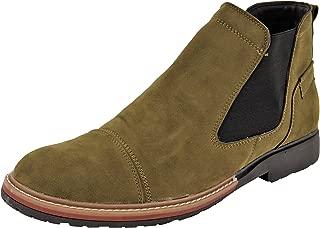 LeeGraim Men's Chelsea Boots