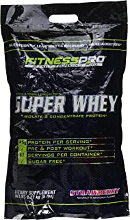Fitness Pro Super Whey Protein Strawberry - 5 Lb