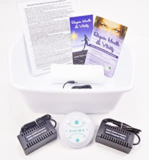 Ion Ionic Detox Foot Spa Cleanse Cell Chi Bath, Free Foot Basin and 2 STRONGER