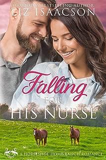 Falling for His Nurse (Horseshoe Home Ranch Romance Book 8)