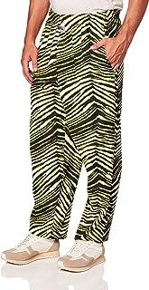 Zubaz Men's Zebra Print Leggings