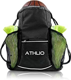 Sponsored Ad - Legendary Drawstring Gym Bag - Waterproof | For Sports & Workout Gear | XL Capacity | Heavy-Duty Sackpack B...