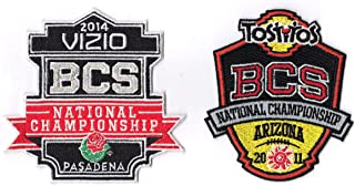 2014 & 2011 BCS National Championship NCAA Bowl Game Jersey Patch Auburn Tigers