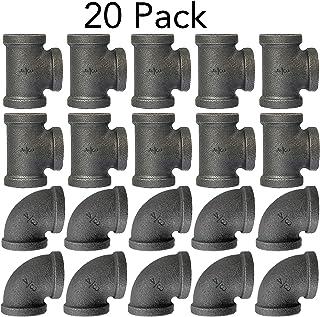 Amazon com: 3/4 galvanized pipe fittings
