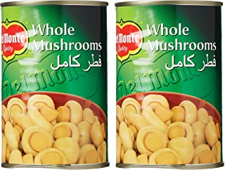 Del Monte Canned Whole Mushrooms 2 x 400 gm (Pack of 1)