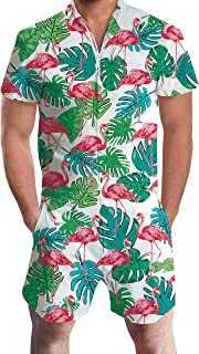 one piece shirt and shorts mens