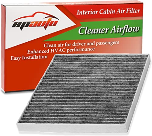 wholesale EPAuto CP374 (CF10374) Replacement new arrival for Toyota/Dodge/Pontiac Premium Cabin Air Filter popular includes Activated Carbon outlet sale