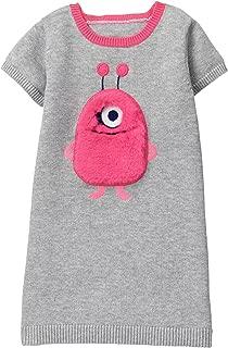 Girls' Toddler Monster Face Sweater Dress