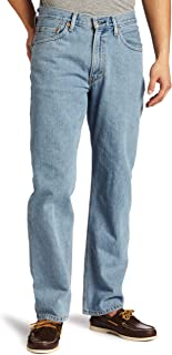 Levi's 550 Relaxed Fit Jeans in Light Stonewash
