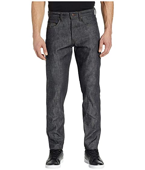 Naked & Famous Easy Guy Green Core Selvedge Jeans