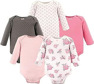 Unisex Baby Long Sleeve Cotton Bodysuits