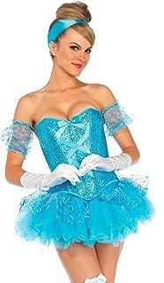 Women's 5 Piece Cinderella Costume