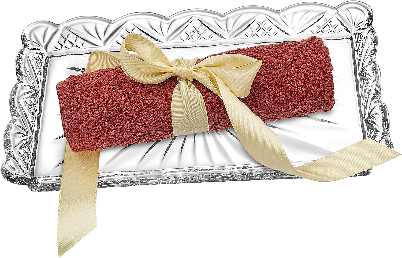 Godinger Dublin Crystal Tray supreme Guest Towel Al sold out.