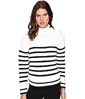 Kate Spade New York - Stripe Alpaca Sweater