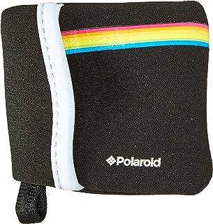 Polaroid Cube/キューブ デジタルビデオアクションカメラ用 ネオプレーン製 ポーチ (ブラック)